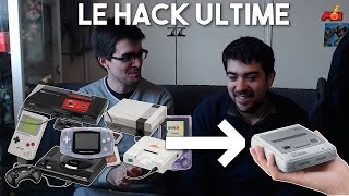Dark et Fabien bricolent : le hack ultime de la SNES Mini