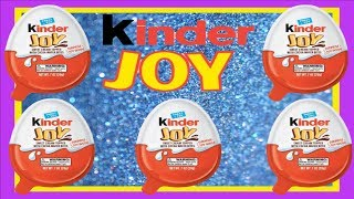 Unboxing And Review Of New Mystery Kinder Joy Surprise Kinder Egg Big Costco Pack