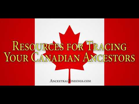 Resource Guide To Canadian Genealogy | AF-159