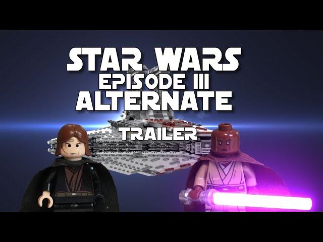 AlLTERNATE II STAR WARS EPISODE 3 Fanfilm  Trailer LEGO II