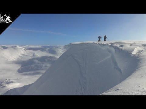 Skiing the Nevis Range / Scotland / Part 1