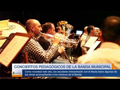 Conciertos pedagógicos de la Banda Municipal 2018