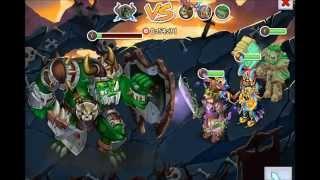 Knights and Dragons: New Orc Raid Gameplay!!!