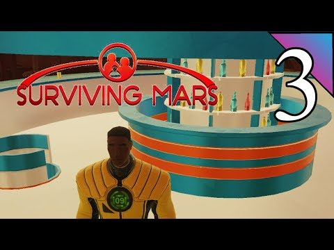 Surviving Mars 3:  Spacebar!?  This Rocks!  Let's Play First Impressions Gameplay