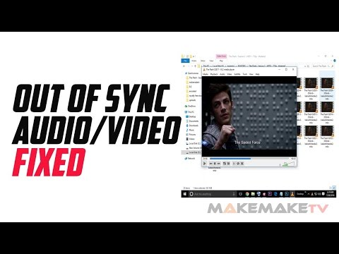 Out of Sync Audio Video FIXED! in 1 click