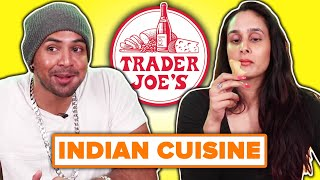 Indian People Taste Test Trader Joe's Indian Food