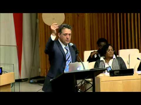 Mark Langfan on Global Anti-Semitism @ UN conference, Sept 8, 2014
