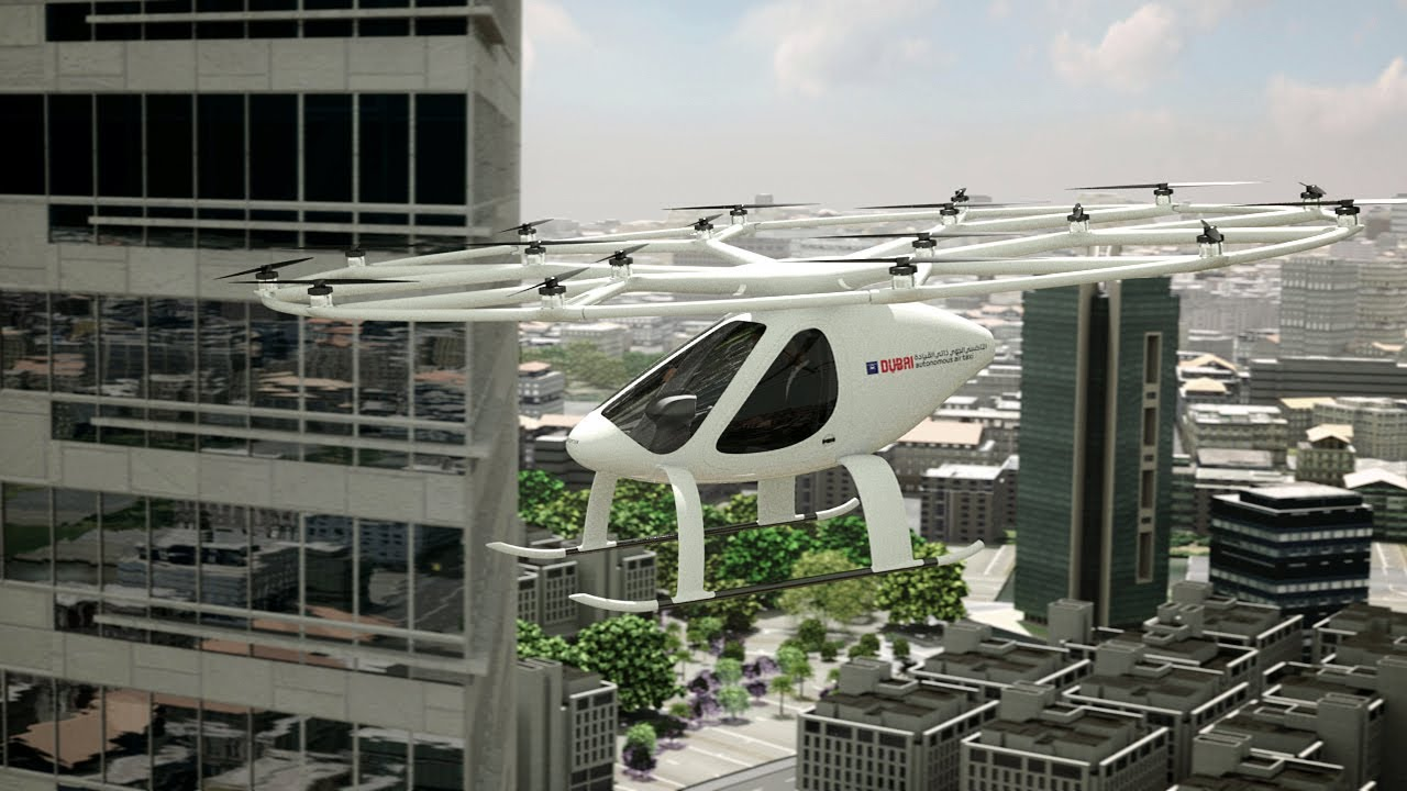 Volocopter And Rta Dubai Cooperate On Evtol Autonomous Air