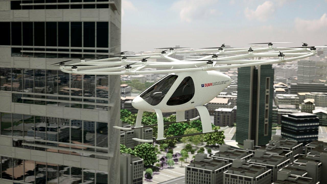Volocopter And Rta Dubai Cooperate On Evtol Autonomous Air