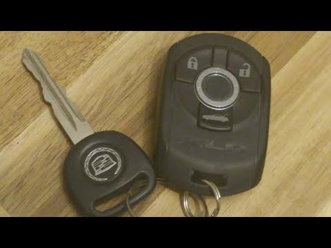 Cadillac XLR Key Fob Battery Replacement – DIY