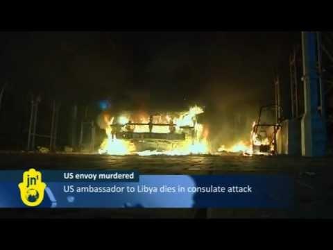 US Ambassador to Libya Killed in Strike on US Consulate in Benghazi: American Film Mocks Muhammad