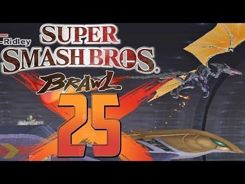 Let's Play Super Smash Bros  Brawl [HEFTIG] - Part 25 - Meta Ridley Returns