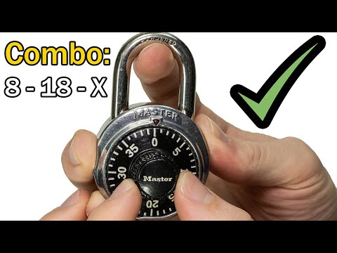 [399] How To Decode Instantly the LAST Digit To Your Dial Combination Lock By Brute Force!