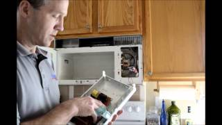 F3 error. Microwave oven control panel replacement