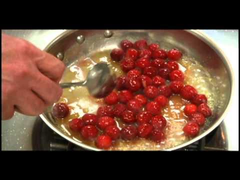 How To Make Cherries Jubilee!
