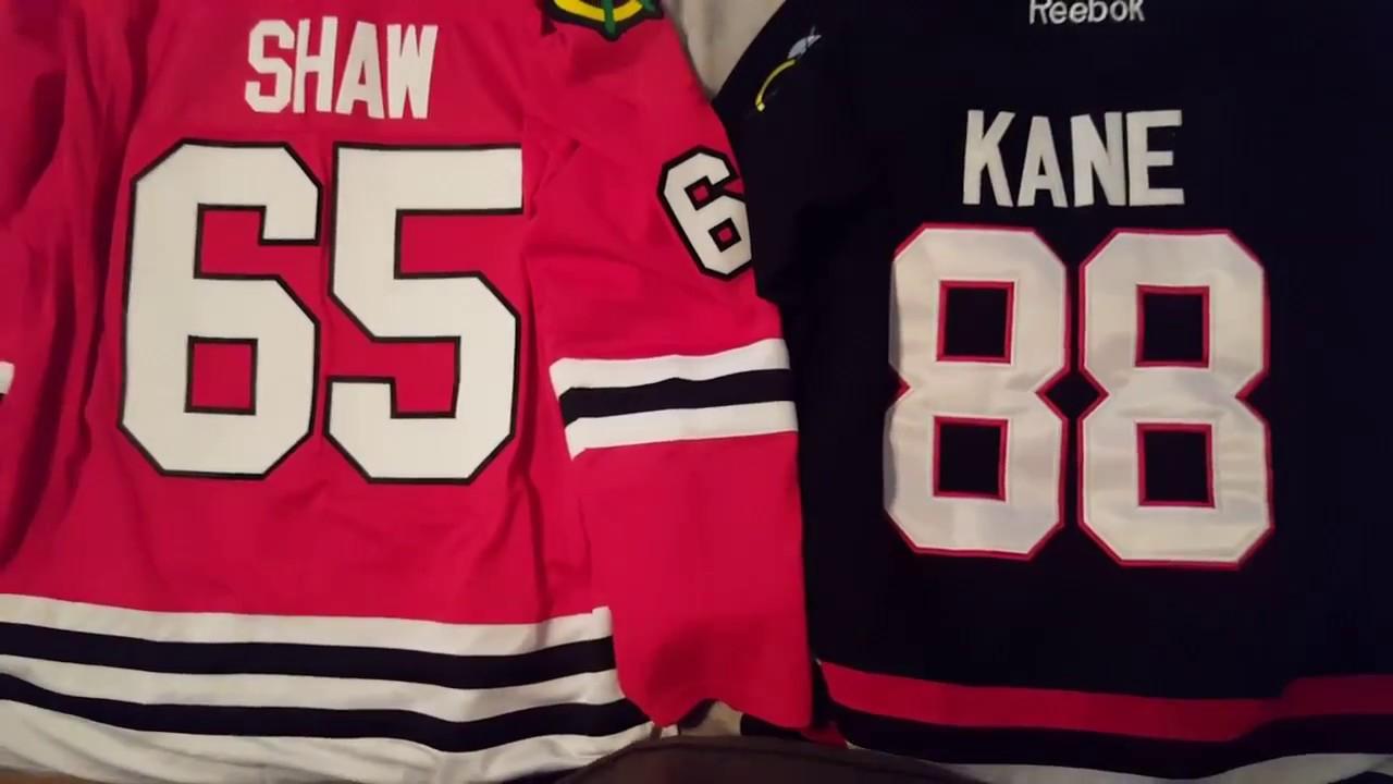 real blackhawks jersey
