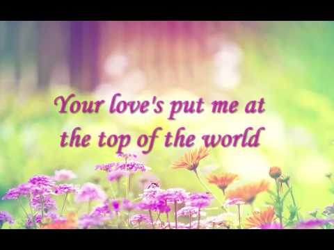Top of The WorldThe Carpenters Lyrics