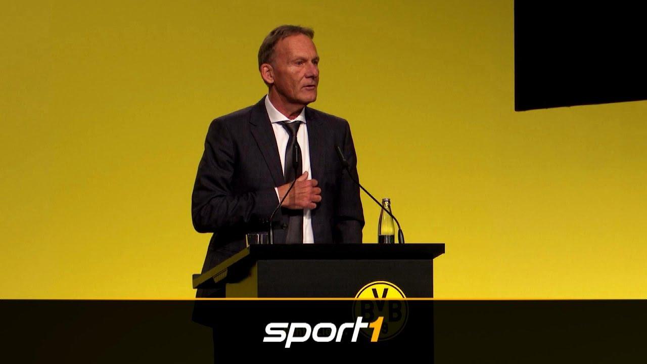 Watzke auch ohne Alcácer zufrieden mit BVB-Kader | SPORT1 - DER TAG