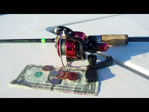 Worlds Cheapest Fishing Reel (Hilarious Results)