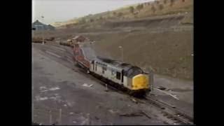 class 37 at waunllwyd ebbw vale railway sidings