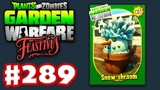 Plants vs. Zombies: Garden Warfare - Gameplay Walkthrough Part 289 - Feastivus Snow Shroom! (PC)