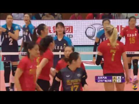 Beijing vs Liaoning | 24 Dec 2016 | Chinese Women Volleyball League 2016/2017