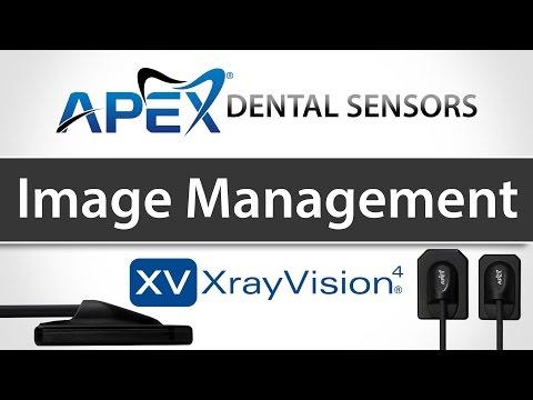 Apteryx XrayVision Managing Images - Apex Dental Sensors - Training