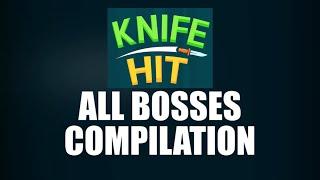 ALL bosses compilation - Knife Hit (common, rare, legendary, challenge)