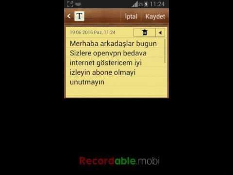turkcell openvpn bedava internet 2016