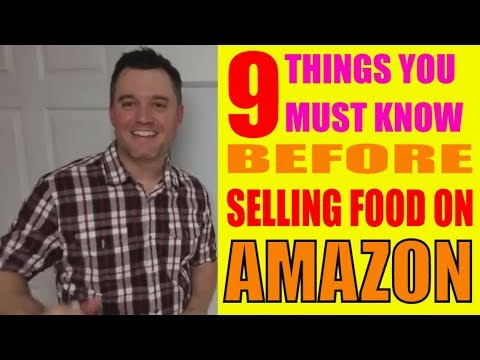 requirements for selling groceries on amazon