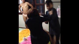 Repeat youtube video เมียจับได้ พาชู้มาอยู่ห้อง! (ล้อเลียน)