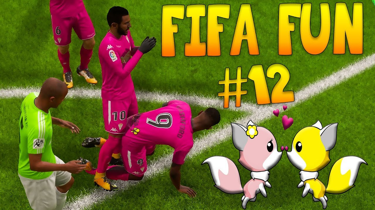 Fifa 18 Funny Fails #12 - Love is in The Air!