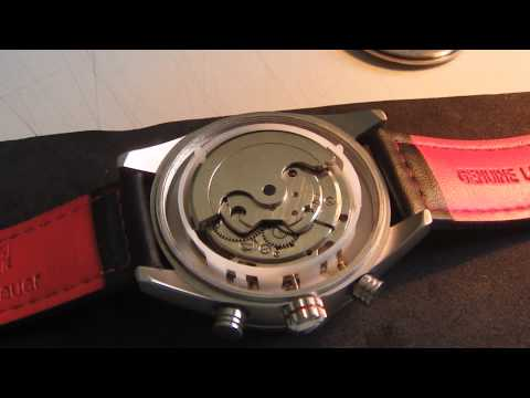 demontare capac si cheie ceas automatic