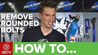 How To Remove Rounded & Seized Bolts On A Bike | Maintenance Monday