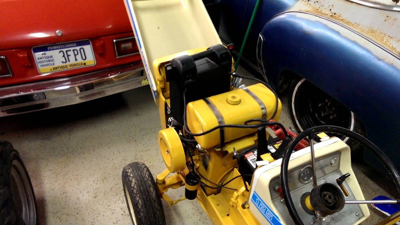 new tractor cub cadet 125 hydro [ 1280 x 720 Pixel ]