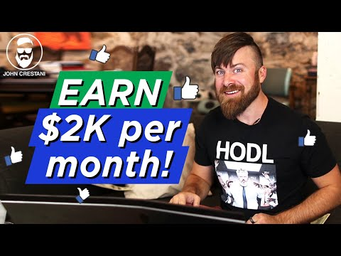 How To Make $2000 Plus Per month From Facebook | UNDERGROUND METHOD