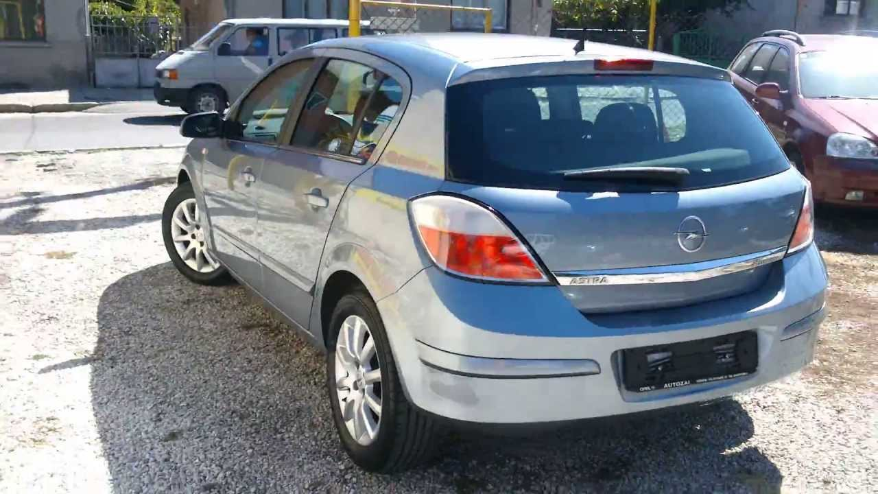 Opel Astra H 1.6 2004 - YouTube
