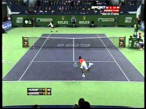 Novak Djokovic vs Andy Murray - ATP Masters Shanghai 2012. FINAL Highlights (bojan svitac)