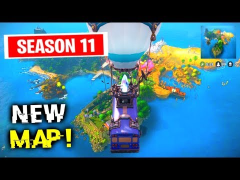 Say Hello To The New Map.. (Fortnite)
