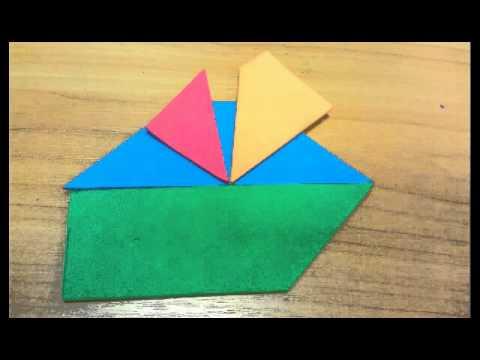 Тесты ТРиЗ на креативность. Шла 2 пара..танграм