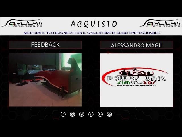 OPINIONE ACQUISTO SIMULATORE - POWER UNIT SIMULATOR - ALESSANDRO MAGLI & KATIA TIRONI