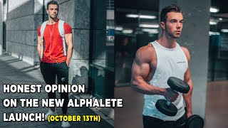 SIZING & QUALITY Review of NEW Alphalete Products!