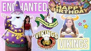 Vlog : LIBRENG pa-BIRTHDAY sa VIKINGS at ENCHANTED KINGDOM!! (Eat All You Can, Ride All You Can!)