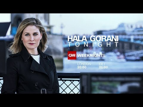 "CNN International: ""Hala Gorani Tonight"" promo"