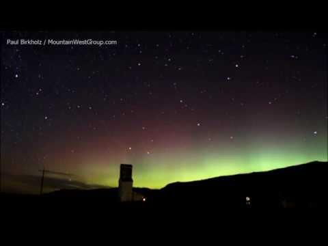 Northern Lights at Wyarno, WY - Nov. 7, 2015