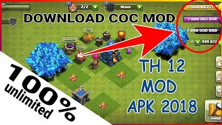Download game Clash of Clans MOD 2018
