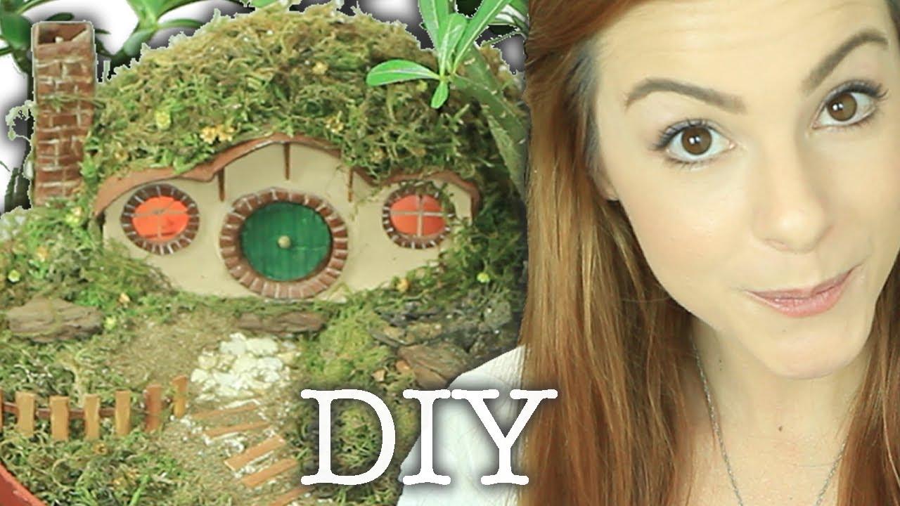 Wallpaper Geek Girl Diy Hobbit Home Especial Geek Youtube