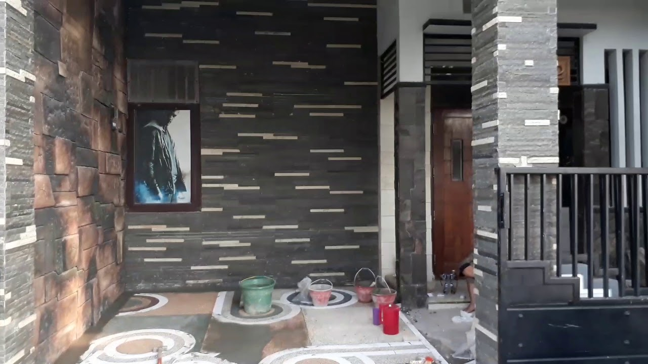 Desain Lantai Carport Batu Sikat Terbaik 085233383883 2 Youtube