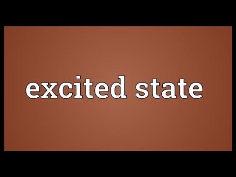 Excited state Meaning