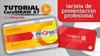 CorelDraw X7 Tutorial 14: TARJETA DE PRESENTACIÓN PROFESIONAL / CREATE YOUR OWN BUSINESS CARD